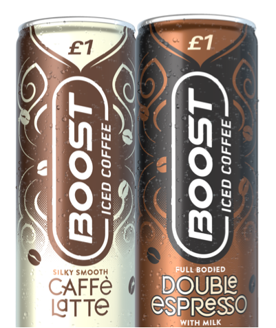 Boost Iced Coffee Range